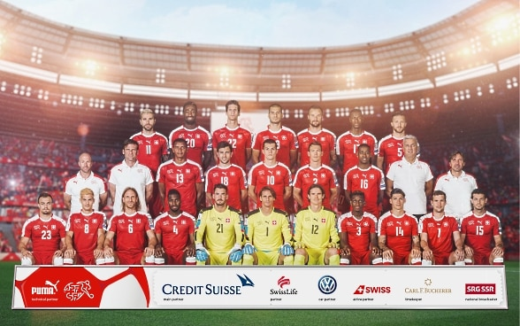 Swiss national team, 2018 World Cup campaign