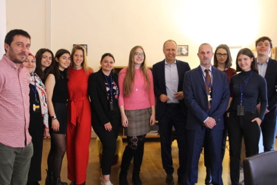 Swiss Delegation of Young Parliamentarians