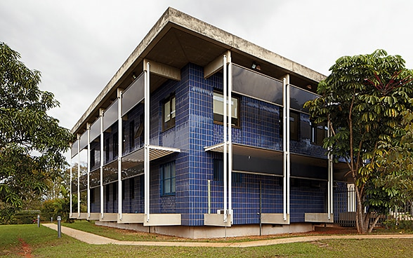 The embassy premises in Brazil