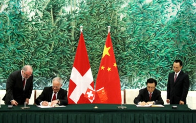 Image of signing of FTA