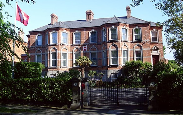 The embassy premises in Dublin