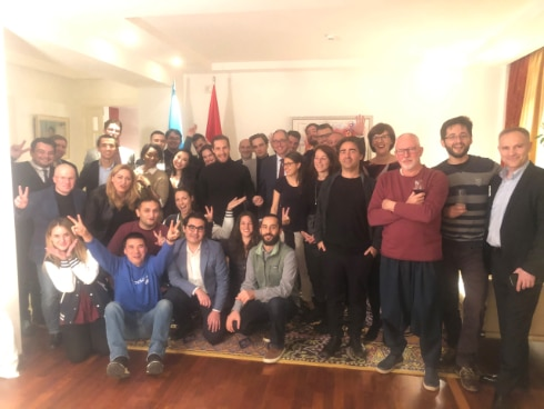Reception Seedstars at the Swiss  Residence