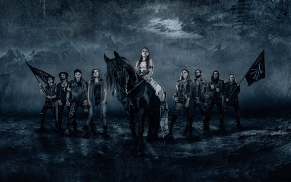 "Swiss folk metal band ""Eluveitie"""