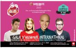 Flyer for the Montreux Comedy Festival