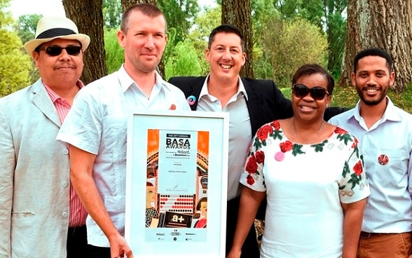 Arts and culture partnership wins regional award in Southern Africa