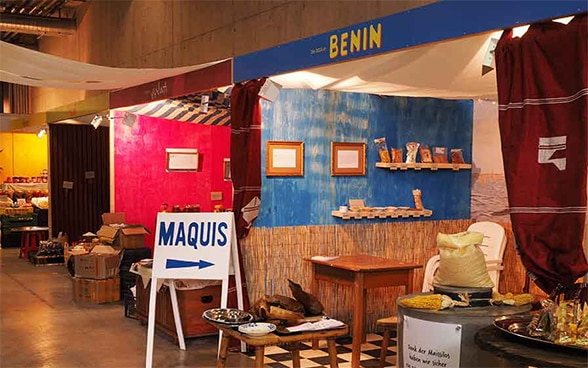 The SDC stand dedicated Benin at BEA 2016.