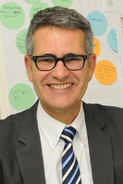 Hans Peter Heiniger, head of the Helpline