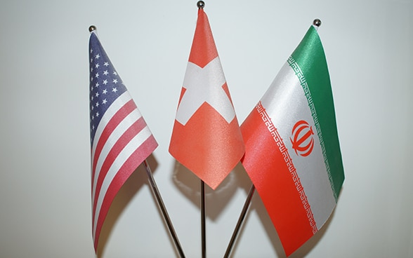 Switzerland represents US interests in Iran since 1980