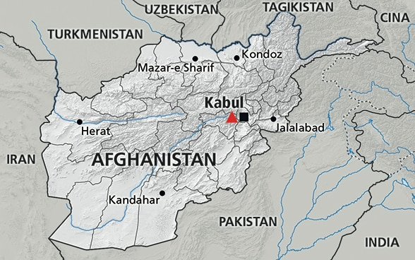 Cartina dell'Afghanistan