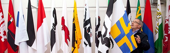 The flags of the Swiss cantons