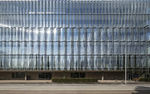Safe-deposit boxes in a bank