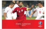 Invitation to the screening of the football match Albania - Switzerland