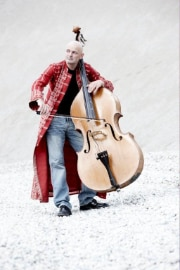 Mich Gerber with double bass