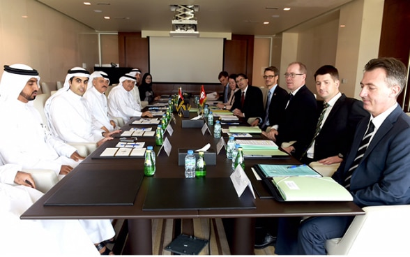 Political Consultations UAE - CH