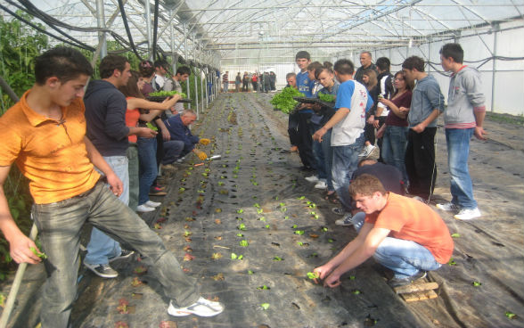 Agricultural school in Pristina, vocational Education Support Project 2011