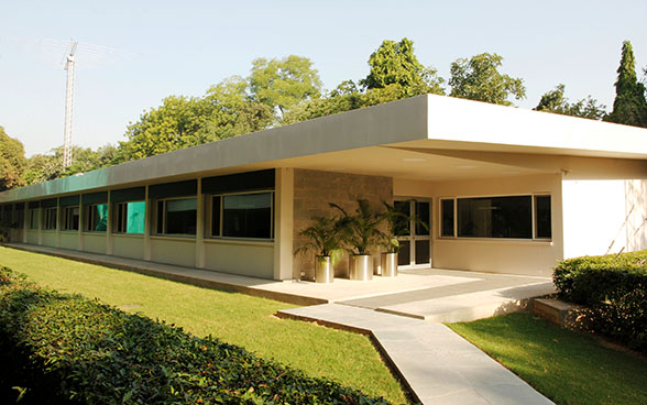 The new SDC programme offices at the Swiss embassy in India.