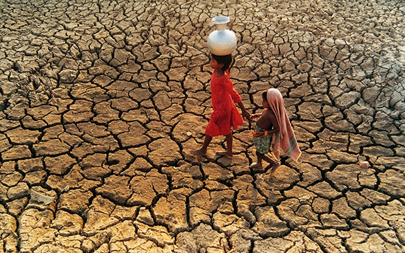 Climate change threatens to push 100 million people into extreme poverty between now and 2030.